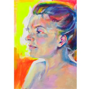 Fluorescent Woman